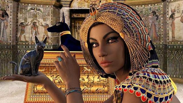 egypt a žena
